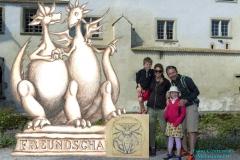 Drachen-Foto-Detektor auf Schloss Hallwyl