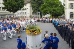 Lenzburger Jugendfest 2017 - Zapfenstreich