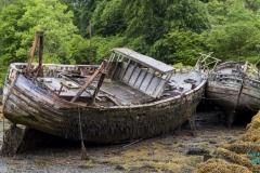 Gestandetete Boote